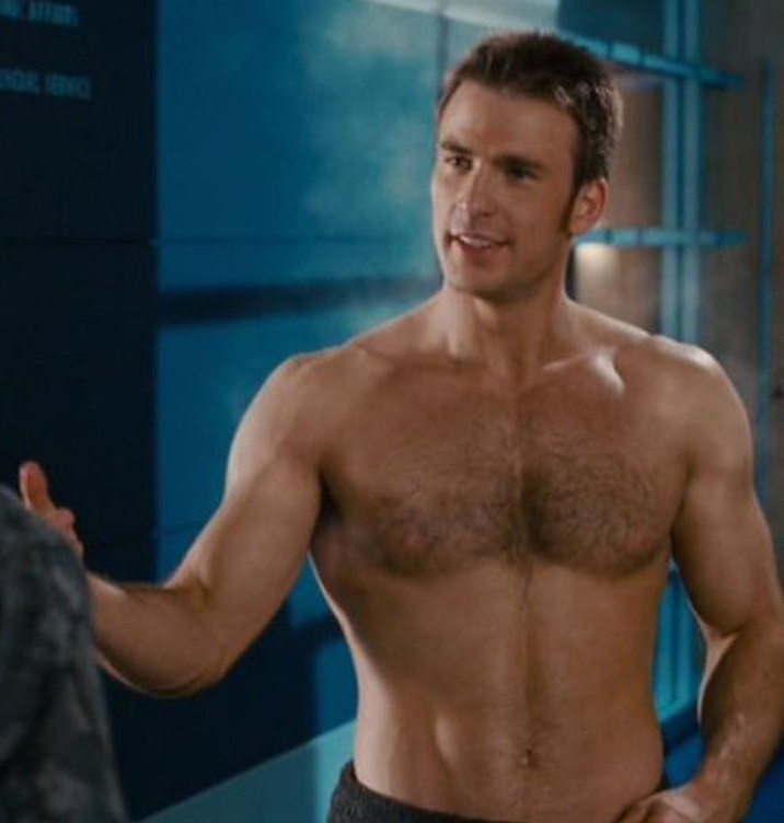 Male Objectification Monday- Chris Evans – timewantsaskeleton