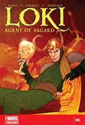 Jenny Frison cover = Old Man Loki +reflective riches Loki front and center conveying his self centeredness.